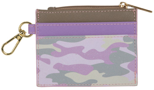 Pink Camo Card Holder