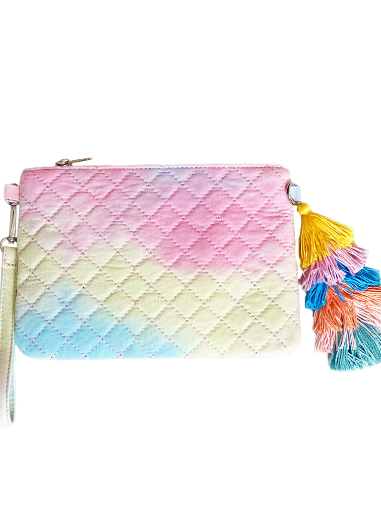 Quilted Tie Dye Bag