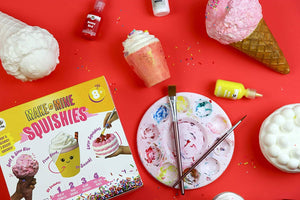 DIY Dessert Paint Your Own Squishies