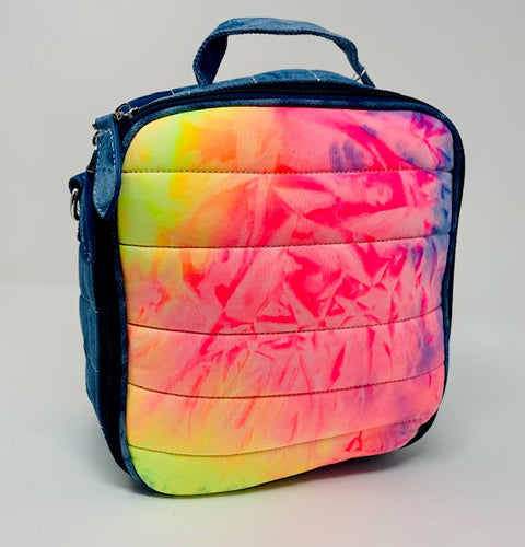 Bari Lynn Lunch Box - Neon Tie Dye