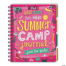 Load image into Gallery viewer, Girls Summer Camp Journal