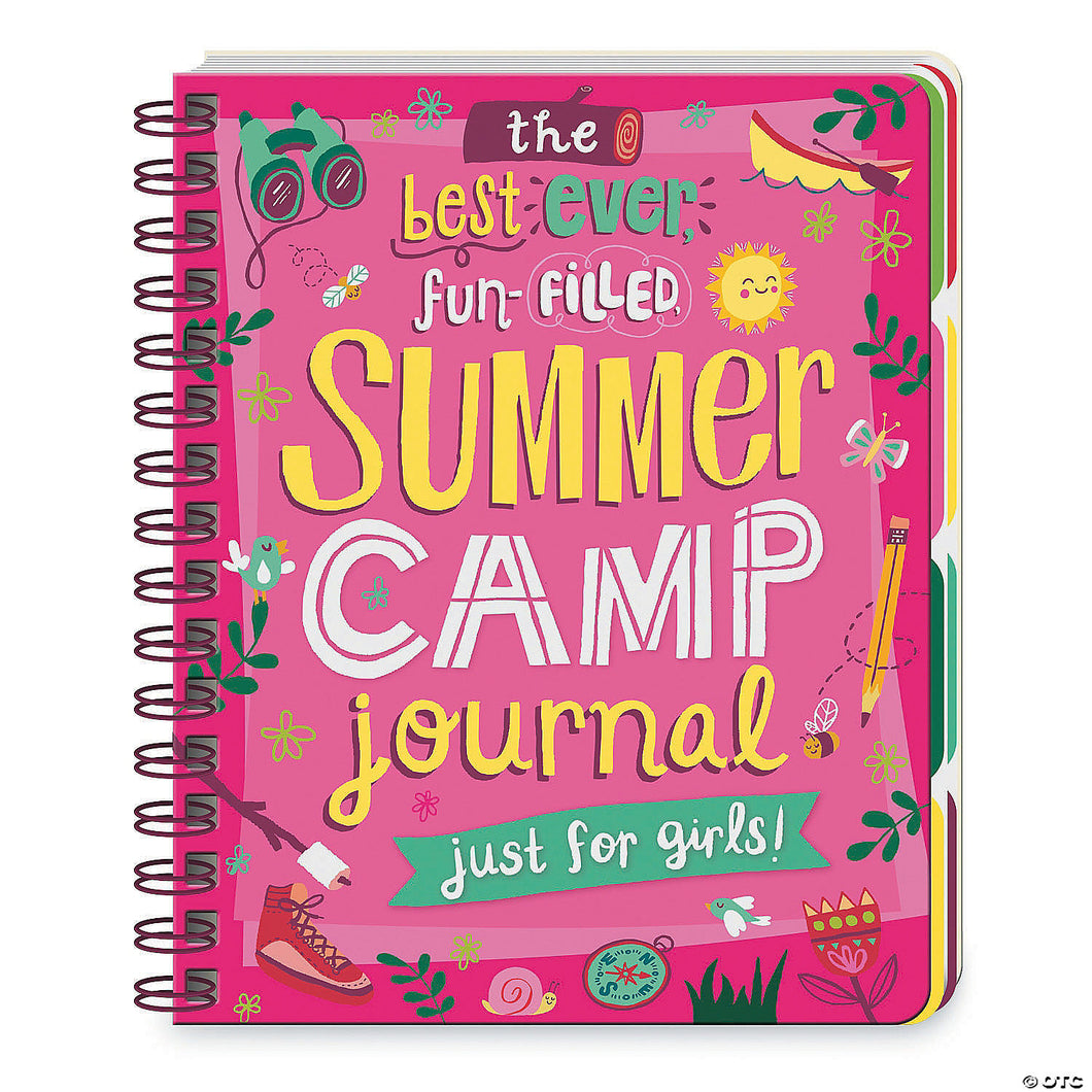 Girls Summer Camp Journal