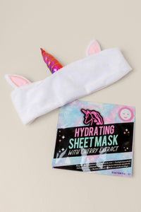 Unicorn Face Mask and Headband