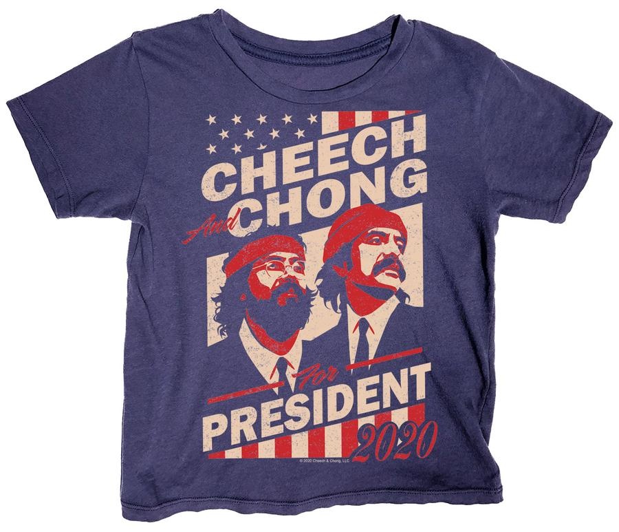Rowdy Sprout Cheech & Chong for President Tee