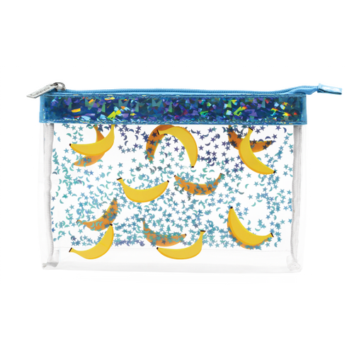 Banana Clear Cosmetic Bag