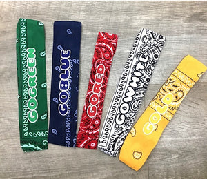Color War Bandana Headwrap