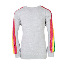 Load image into Gallery viewer, Sequin Rainbow Tracksuit Set