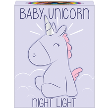 Load image into Gallery viewer, Baby Unicorn Night Light
