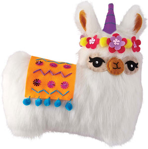 Sew Your Own Furry Llama Pillow