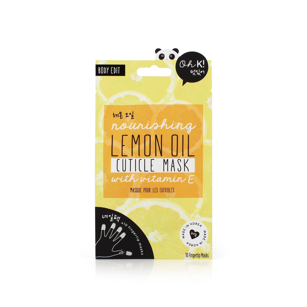 Oh K! Nourishing Lemon Oil Cuticle Mask