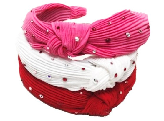 Bari Lynn Pleated Knot Headband