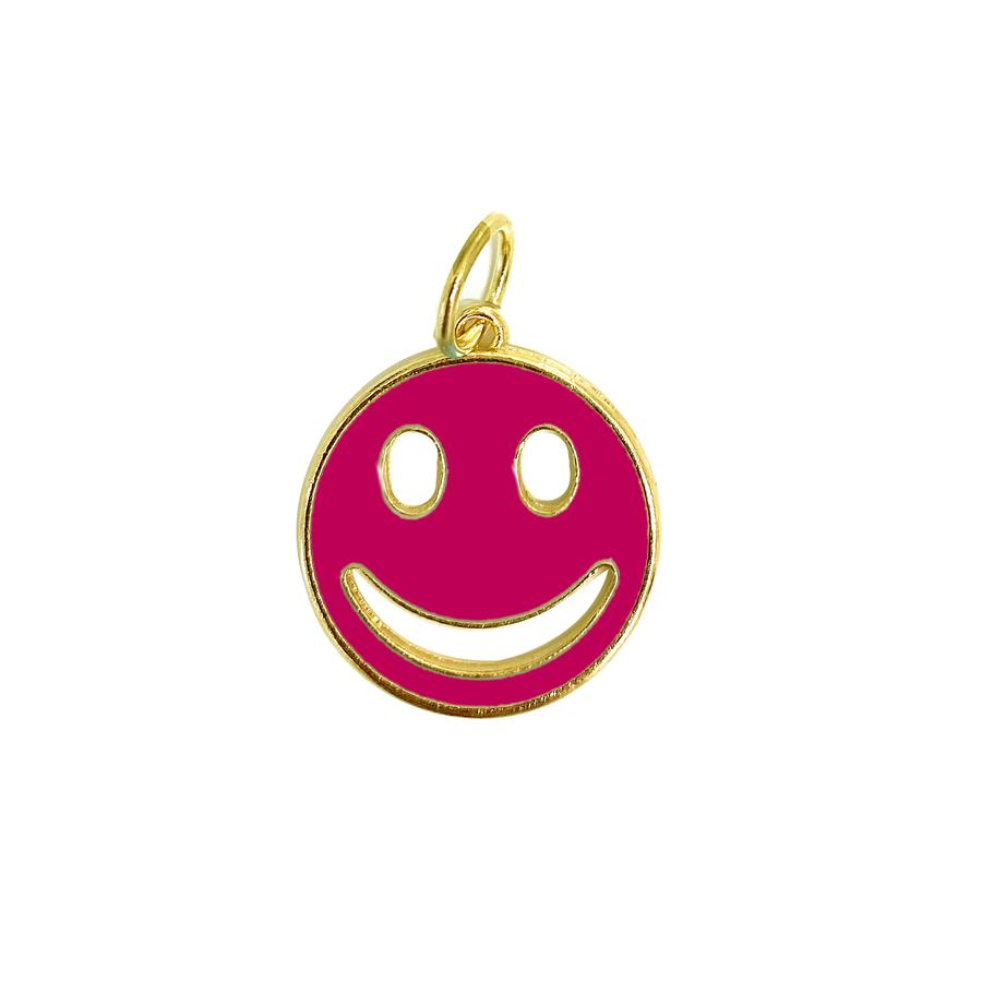 Enamel Smiley Charm
