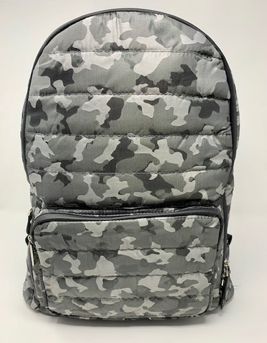 Bari Lynn Backpack - Grey Camo