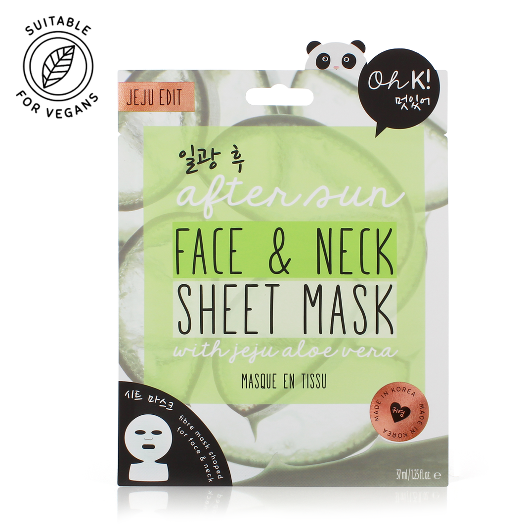 Oh K! After Sun Face and Neck Sheet Mask