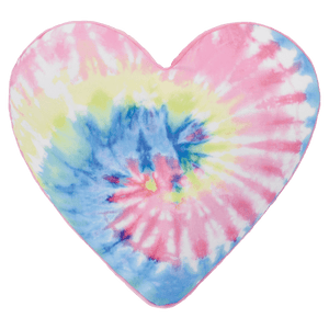 Tie Dye Heart Pillow