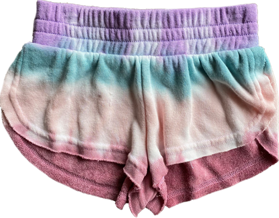 Morning Dew Tie Dye Terry Shorts
