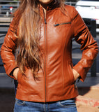 Blessons Boutique, Ocean Springs, Boutique, Women's Clothing, Jacket, apparel, leather, genuine leather
