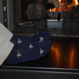 blessons boutique, ocean springs boutique, duck socks, ducks, mid calf socks, men's clothing, hunter, accessories, men's, socks, apparel, men, navy