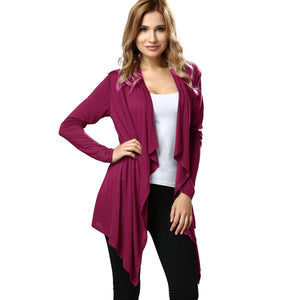 blessons boutique, ocean springs boutique, women's clothing, women's tops, kimono, fuchsia, a-line, JuLee, cardigan