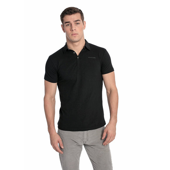 blessons boutique, ocean springs boutique, polo, men's clothing, black, short sleeve