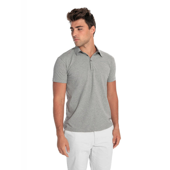 blessons boutique, ocean springs boutique, men's clothing, men's shirts, polo, grey, men's tops, lunar