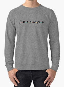 ocean springs boutique, blessons boutique, sweatshirt, women's clothing, men's clothing, pullover, grey, friends