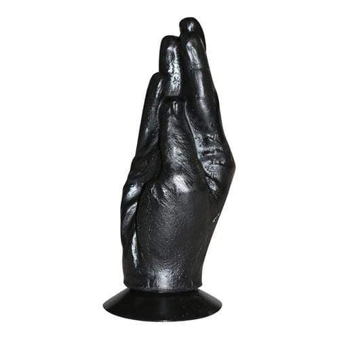 All Black Fisting Hand Dildo All Black