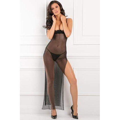 All Out There Open Cup Jurk Dames Lingerie Rene Rofe