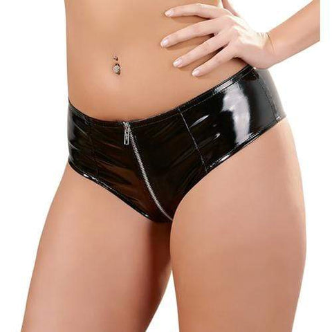 Lak Slip Met Rits Dames Lingerie Black Level