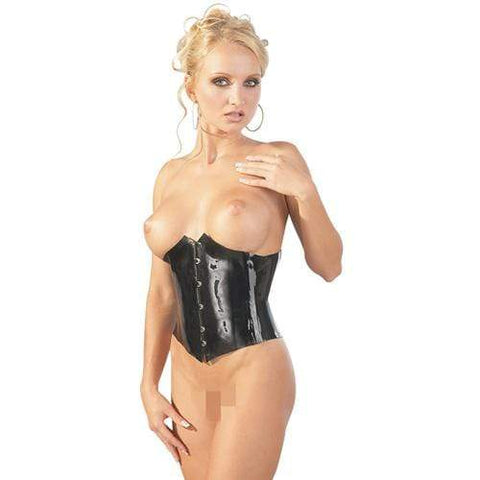 Latex Korset Dames Lingerie The Latex Collection