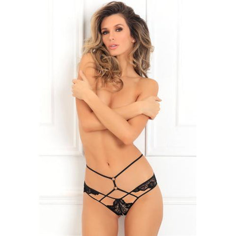 Own It Open Kruis String Dames Lingerie Rene Rofe