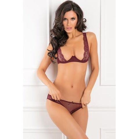 With Love BH-Set - Rood Dames Lingerie Rene Rofe