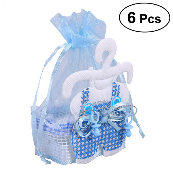 6pcs Feeding Bottle Baby Birthday Party Favor Bags Baby Shower Favor