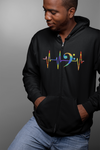 Pulse Bass Clef Statement Zip Hoodie