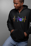 Pulse Drum Set Statement Zip Hoodie