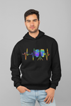 Pulse Conga Drum Statement Pullover Hoodie