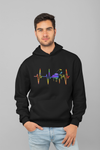Pulse Piano Statement Pullover Hoodie