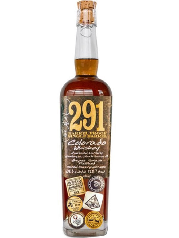 291 Barrel Proof Colorado Bourbon Whiskey - Whiskey - Don's Liquors & Wine - Don's Liquors & Wine