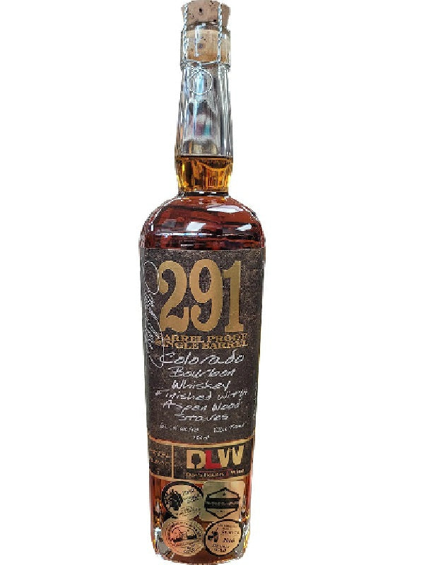 291 Barrel Proof Don's Liquors & Wine Single Barrel # 615