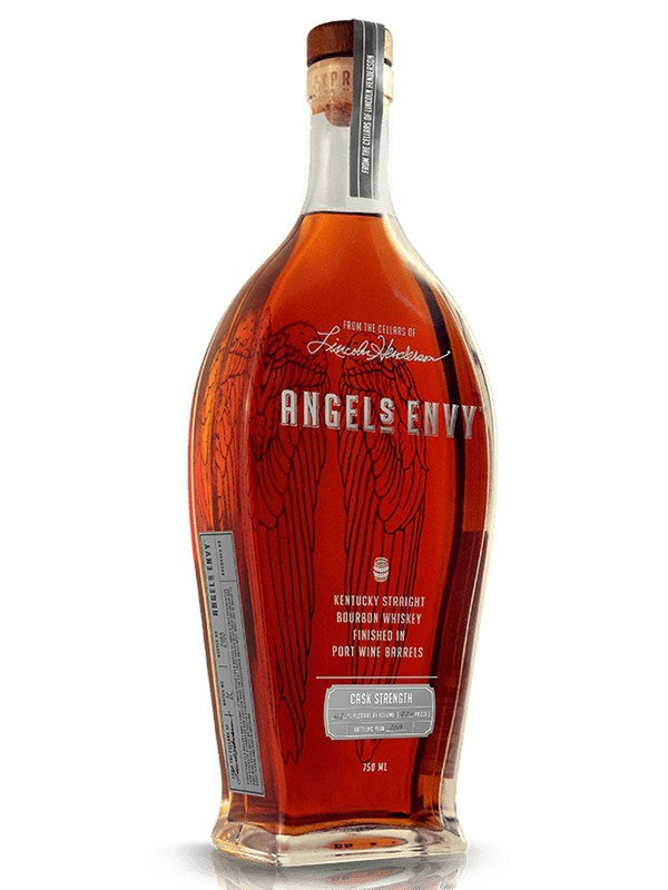 Angel's Envy Cask Strength Bourbon Whiskey Finished in Port Barrels 2019 - Whiskey - Don's Liquors & Wine - Don's Liquors & Wine