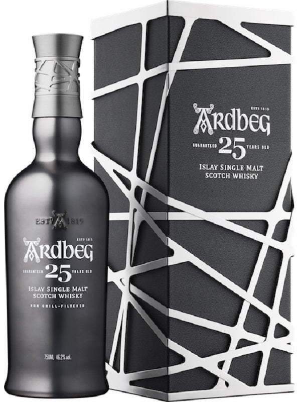 Ardbeg 25 Year Old Scotch Whisky