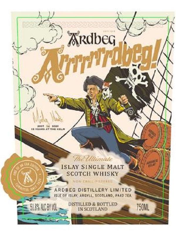 Ardbeg Arrrrrrrdbeg! Scotch Whisky
