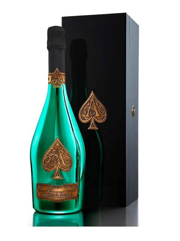 Armand de Brignac Brut Limited Edition Green Bottle