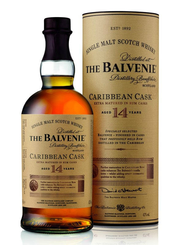 The Balvenie Caribbean Cask 14 Year Scotch Whiskey - Don's Liquors & Wine