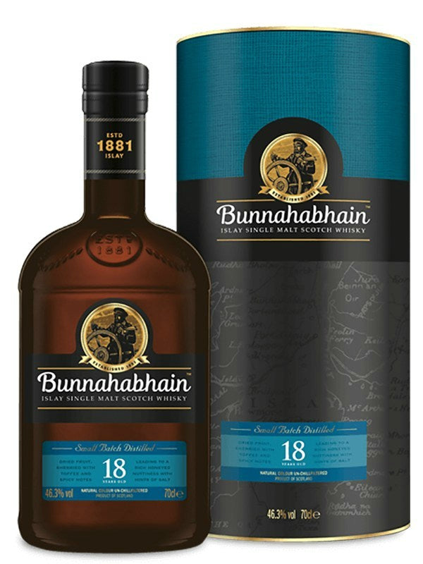 Bunnahabhain 18 Year Old Scotch Whisky