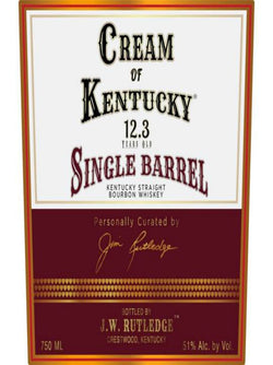 Cream Of Kentucky Bourbon 12.3 Year Old Single Barrel Bourbon - Whiskey - Don's Liquors & Wine - Don's Liquors & Wine