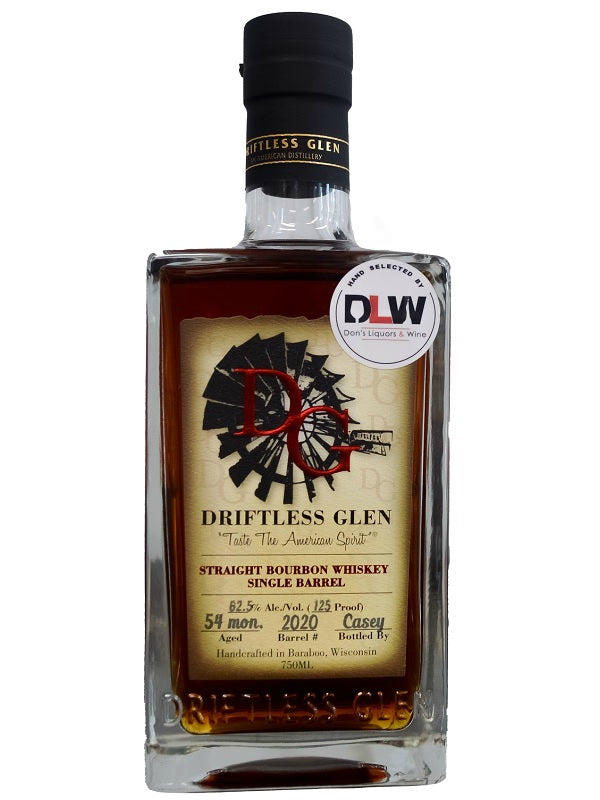 Driftless Glen Bourbon Don's Liquors & Wine Single Barrel - Bourbon - Don's Liquors & Wine - Don's Liquors & Wine