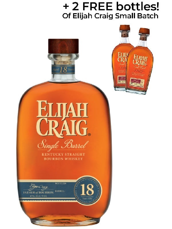 Elijah Craig 18 Year Old Bourbon Whiskey 2019 - Bourbon - Don's Liquors & Wine - Don's Liquors & Wine