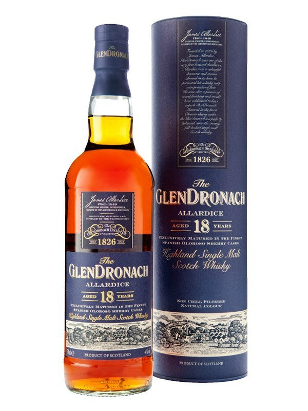 GlenDronach Allardice 18 Year Old Scotch Whisky - Scotch - Don's Liquors & Wine - Don's Liquors & Wine