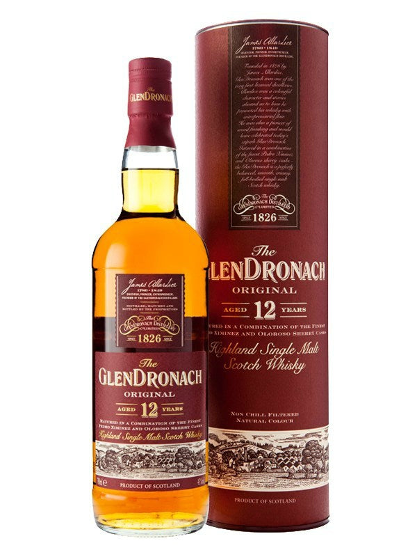 GlenDronach Original 12 Year Old Scotch Whisky - Scotch - Don's Liquors & Wine - Don's Liquors & Wine